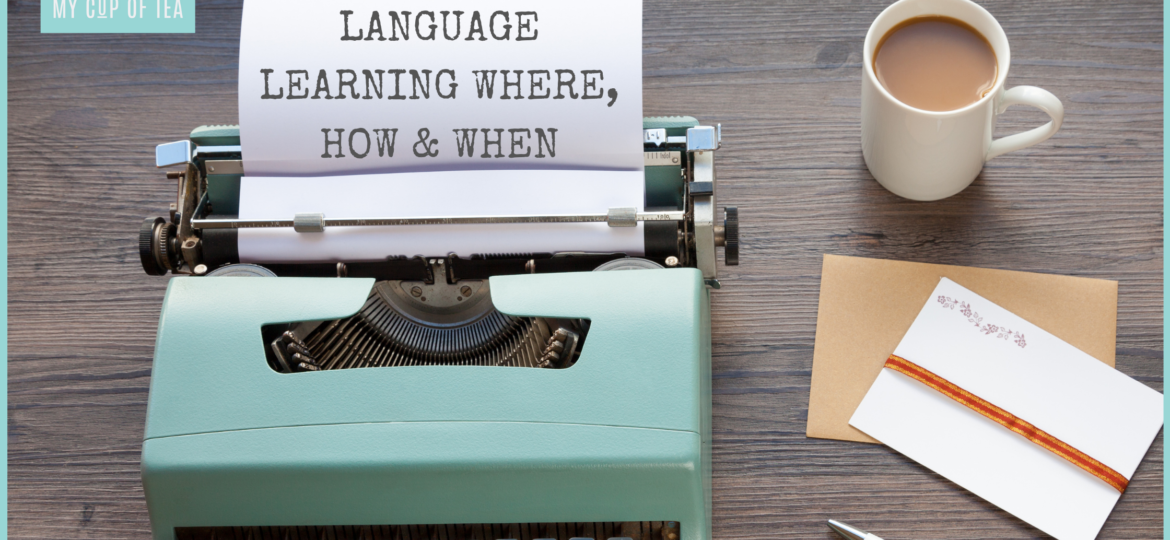 LANGUAGE LEARNING BANNER