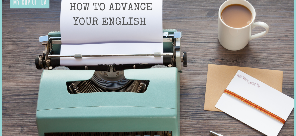HOW TO ADVANCE YOUR ENGLISH BANNER